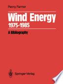 Wind Energy 1975 1985
