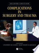 Complications In Surgery And Trauma Second Edition