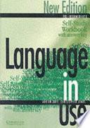 Language In Use Pre Intermediate Self Study Workbook Answer Key book