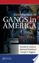 Introduction to Gangs in America To Society Introduction To Gangs In America