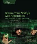 Secure Your Node js Web Application