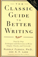 The Classic Guide to Better Writing