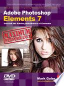 Adobe Photoshop Elements 7 Maximum Performance