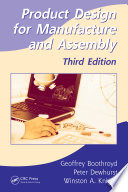 Product Design for Manufacture and Assembly  Third Edition