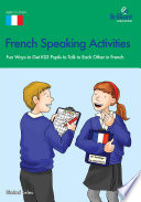 French Speaking Activities  KS3