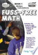 Fuss free Maths  Written calculations