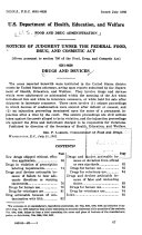 Notices of Judgment Under the Federal Food, Drug, and Cosmetic Act. Drugs and Devices