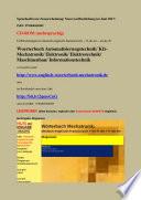 Uebersetzungen in deutsch englisch franzoesisch   fr de en   en de fr  Woerterbuch Automatisierungstechnik  Kfz Mechatronik  Elektronik  Elektrotechnik  Maschinenbau  Informationstechnik
