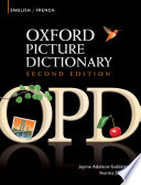 Oxford Picture Dictionary English French Edition  Bilingual Dictionary for French speaking teenage and adult students of English