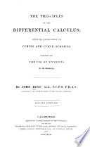 The Principles of the Differential Calculus
