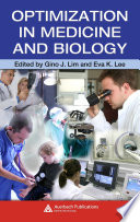 Optimization In Medicine And Biology book