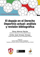 download ebook el dopaje en el derecho deportivo actual: pdf epub