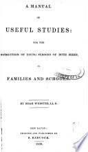 A Manual of Useful Studies