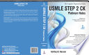 USMLE Platinum Notes Step 2 CK
