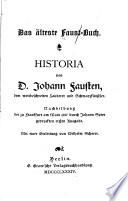 Das   lteste Faust Buch