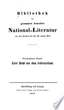 Bibliothek der gesammten deutschen National Literatur von der   ltesten bis auf die neuere Zeit