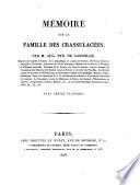Memoire sur la famille des crassulacees ... avec treize planches