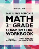 Argo Brothers Math Workbook  Grade 3
