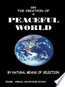 ON THE CREATION OF A PEACEFUL WORLD