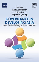 Governance in Developing Asia