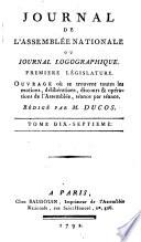Journal de l'Assemblée nationale, ou Journal logographique