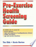 Pre Exercise Health Screening Guide