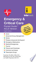 Emergency   Critical Care Pocket Guide