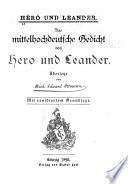 Hêrô und Leander