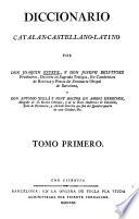 Diccionario Catalan Castellano Latino