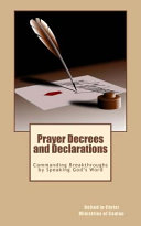 Prayer Decrees and Declarations