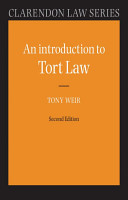 An Introduction to Tort Law