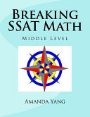Book Breaking SSAT Math Middle Level