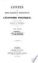 Contes de miss Harriet Martineau sur l'e conomie politique: Domerara. Ella de Garveloch. La mer enchante e