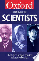 A Dictionary Of Scientists