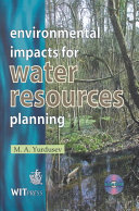 Environmental impacts for water resources planning