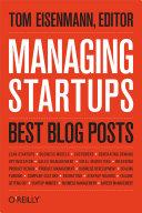 Managing Startups: Best Blog Posts Book
