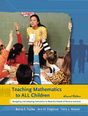Teaching Mathematics to All Children