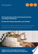 Bau Der Cheops Pyramide Nach Herodot