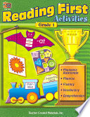 Reading First Activities  Grade 1