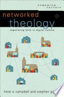 Networked Theology  Engaging Culture