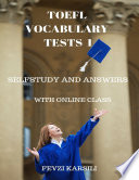 Self Study and Answers of Toefl Vocabulary Tests 1