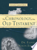 Chronology of the Old Testament