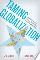 Taming Globalization And Less Isolated Every Day The U S