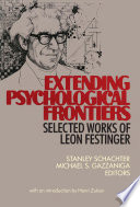 Extending Psychological Frontiers