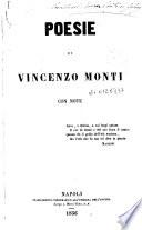 Poesie di Vincenzo Monti con note