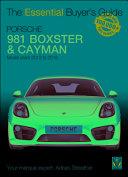 Porsche 981 Boxster & Cayman Book Cover