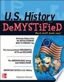 U S  History DeMYSTiFieD