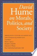 David Hume on Morals  Politics  and Society Book PDF