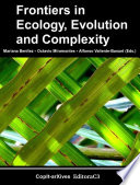 Frontiers in Ecology  Evolution and Complexity