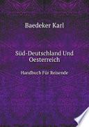 S?d-Deutschland Und Oesterreich